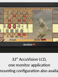Accuvision monitors