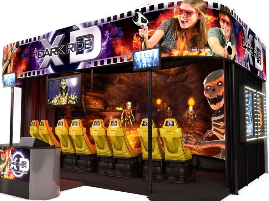 XD Dark Ride Theater